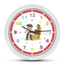 Детски стенен часовник за момче