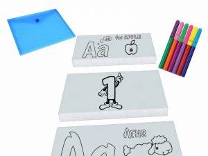 комплект за оцветяване на букви и цифри
