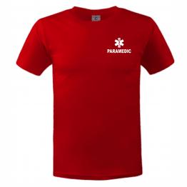 Тениска с надпис paramedic