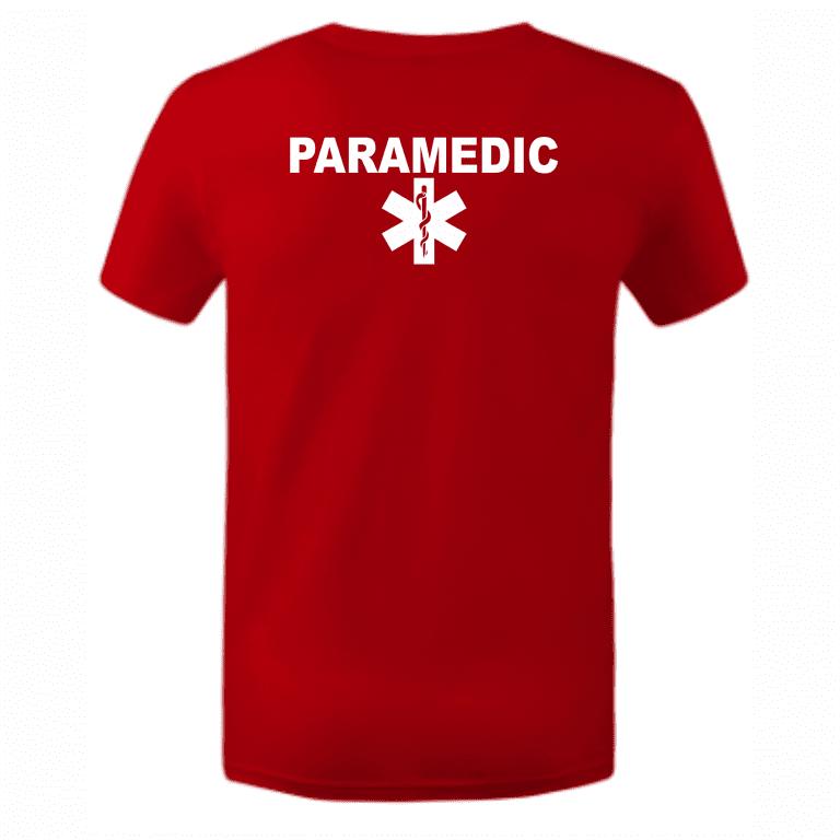 Тениска с надпис paramedik